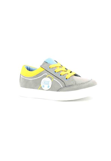 Mod8 kids Pantofi sport de piele ecologica Patouche Fete