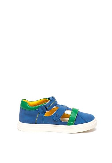 Mod8 kids Pantofi sport de piele ecologica cu decupaje Paulo Fete