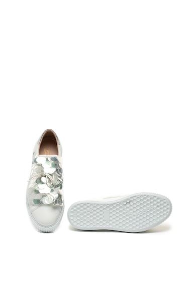 Tosca Blu Pantofi sport slip-on de piele cu paiete Camille Femei