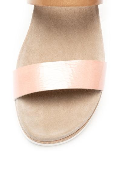 Tosca Blu Sandale wedge de piele Bianca Femei
