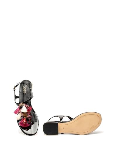 Tosca Blu Sandale cu bareta in forma de T si decoratiuni Sue Femei