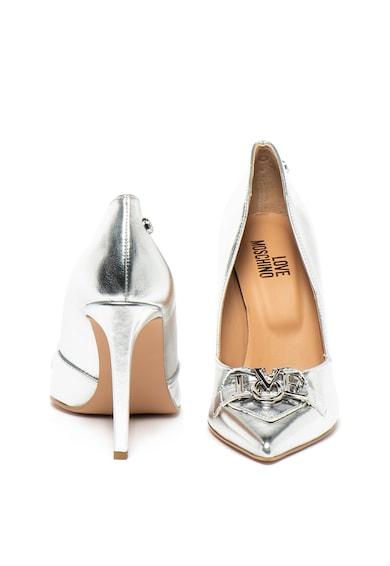Love Moschino Műbőr tűsarkú cipő női
