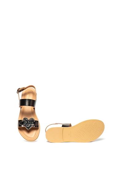 Love Moschino Кожени сандали с лого Жени