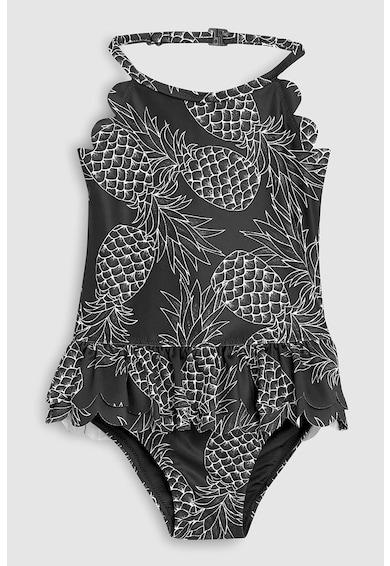 NEXT Costum de baie intreg cu aplicatie cu volane Fete