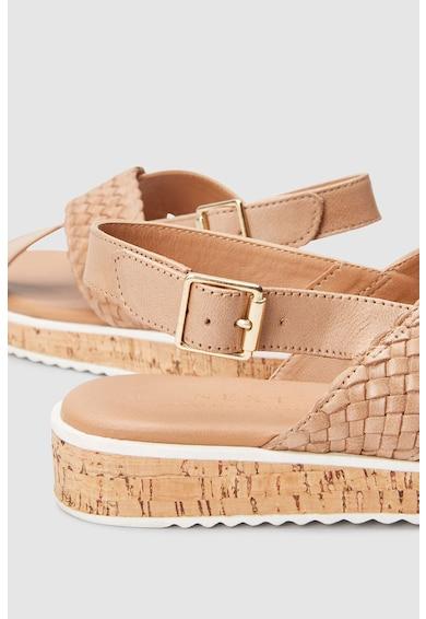 NEXT Кожени сандали с плетен дизайн Жени
