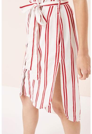 NEXT Раирана среднодълга рокля тип риза с колан Жени