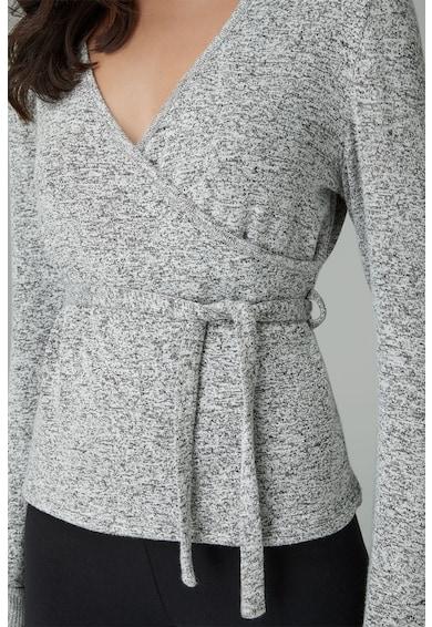 NEXT Pulover din tricot fin, cu decolteu cache-coeur Femei