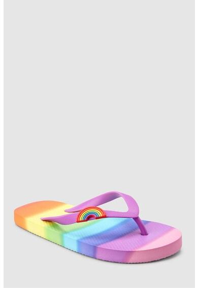 NEXT Papuci flip-flop cu model curcubeu Fete