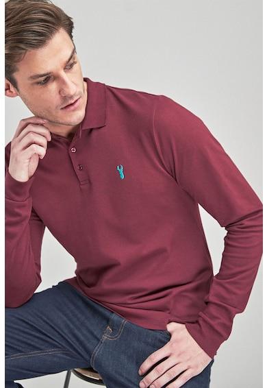 NEXT Bluza polo regular fit cu broderie Barbati