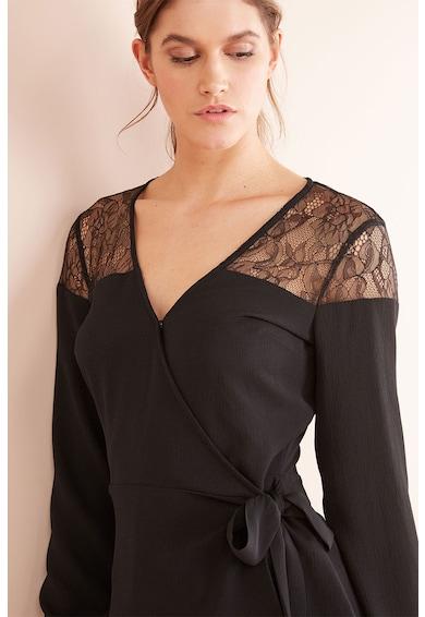 NEXT Блуза с шпиц деколте и дантела Жени