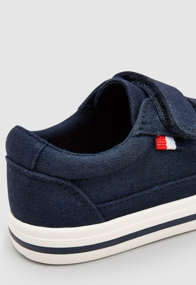 NEXT Pantofi sport din material textil, cu velcro Baieti