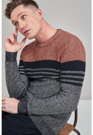 NEXT Csíkos pulóver férfi
