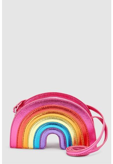 NEXT Keresztpántos táska szivárványos dizájnnal Lány