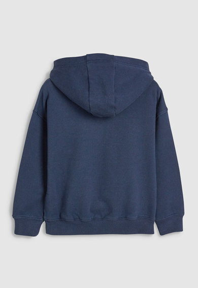 NEXT Mintás kapucnis pulóver Lány