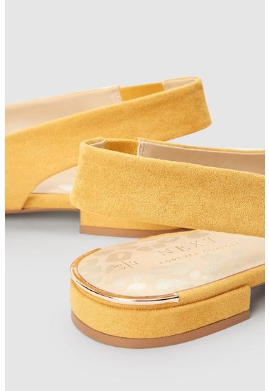 NEXT Pantofi slingback de piele intoarsa sintetica Femei