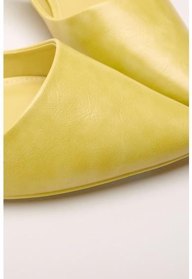 NEXT Pantofi slingback de piele ecologica, cu varf ascutit Femei