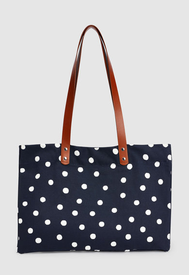 NEXT Платнена чанта с точки Жени