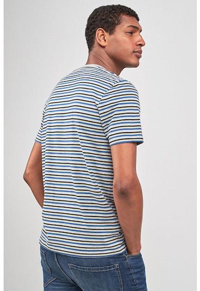 NEXT Slim fit póló zsebbel a mellrészen férfi