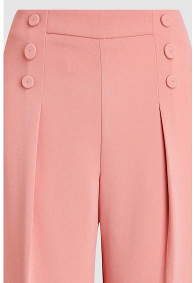 NEXT Pantaloni culotte cu pliuri pe partea din fata Femei