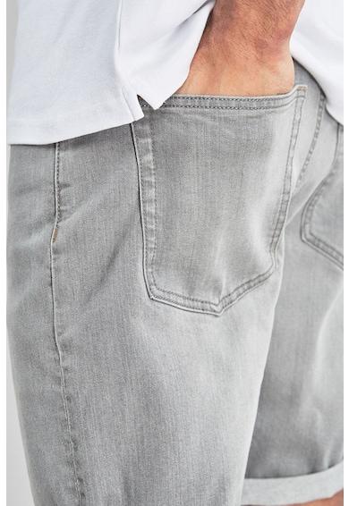 NEXT Pantaloni scurti de denim, cu croiala dreapta Barbati