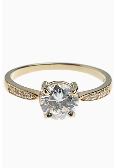 NEXT 18 karátos arannyal bevont sterling ezüst gyűrű női
