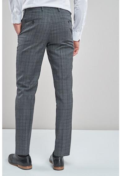 NEXT Pantaloni eleganti tailored fit din amestec lana Barbati