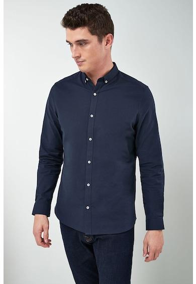 NEXT Slim fit ing legombolható gallérral férfi