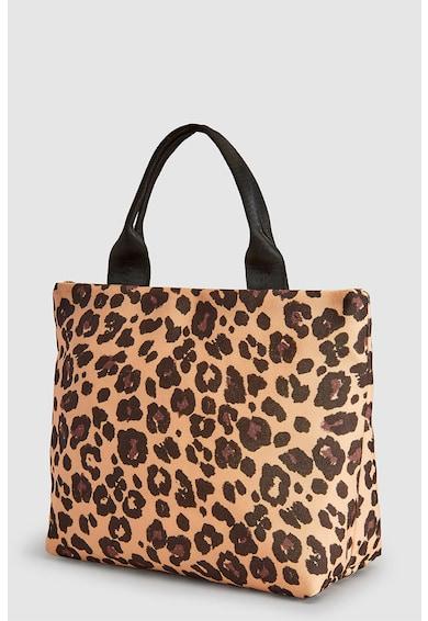 NEXT Geanta shopper cu animal print Femei
