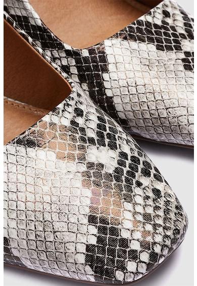 NEXT Pantofi slingback de piele ecologica cu model reptila Femei