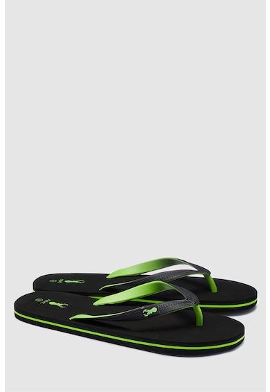 NEXT Papuci flip-flop cu detaliu logo Barbati