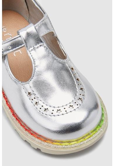 NEXT Pantofi Mary Jane cu aspect metalizat Fete