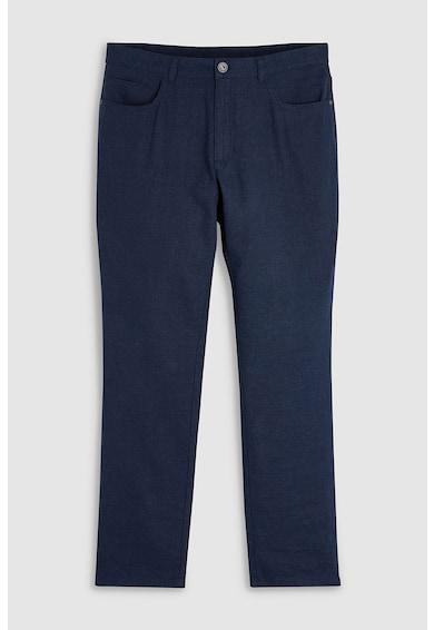 NEXT Pantaloni slim fit din amestec de in Barbati