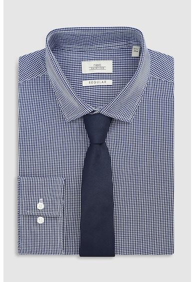 NEXT Regular fit kockás ing és nyakkendő szett férfi