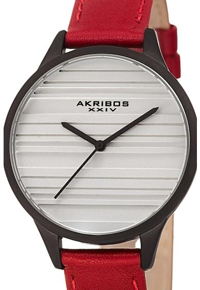 AKRIBOS XXIV Часовник с кожена каишка 11 Жени