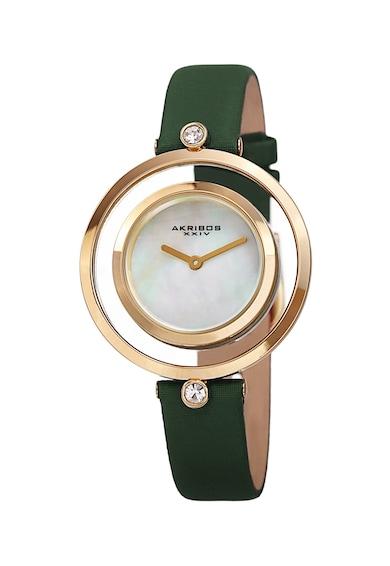 AKRIBOS XXIV Часовник със седеф и кристали Swarovski Жени
