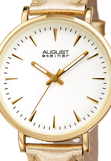 August Steiner Часовник с кожена каишка Жени