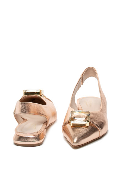 Tosca Blu Pantofi slingback de piele cu strasuri Femei