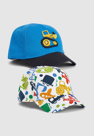 NEXT Десенирана шапка - 2 броя Момчета