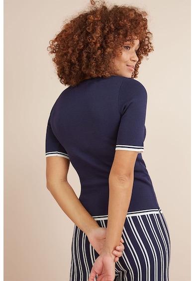 NEXT Bluza cu maneci scurte si garnituri contrastante Femei