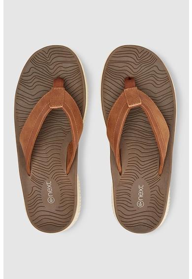 NEXT Papuci flip flop de piele ecologica Barbati
