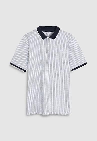 NEXT Regular Fit mintás galléros póló férfi