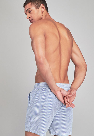 NEXT Pantaloni scurti de baie cu dungi Barbati