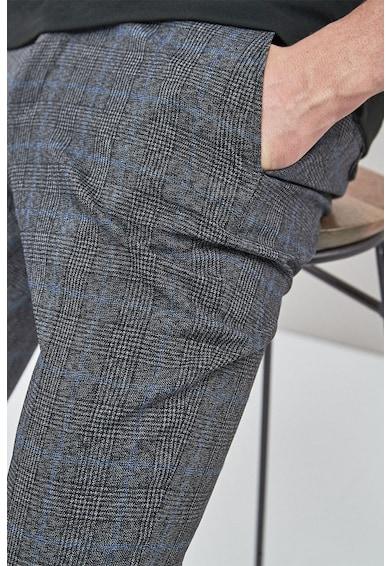 NEXT Pantaloni regular fit cu model in carouri Barbati