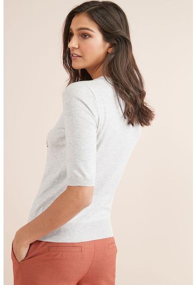 NEXT Bluza din tricot fin cu imprimeu text Femei