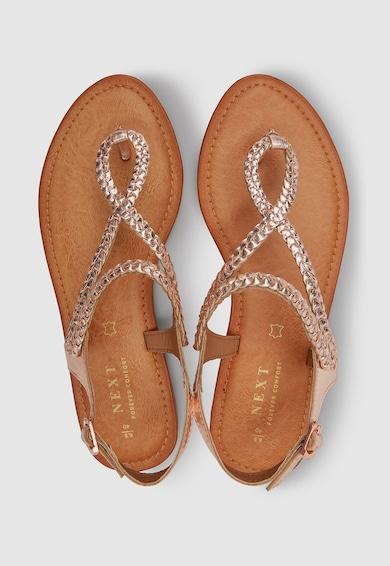 NEXT Sandale de piele cu bareta separatoare Femei