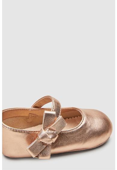 NEXT Pantofi Mary-Jane de piele, cu velcro Fete