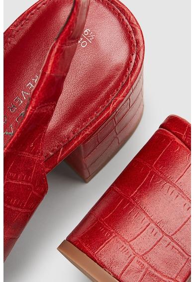 NEXT Sandale slingback de piele ecologica Femei