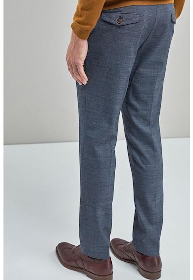 NEXT Pantaloni eleganti slim fit din amestec de lana Barbati