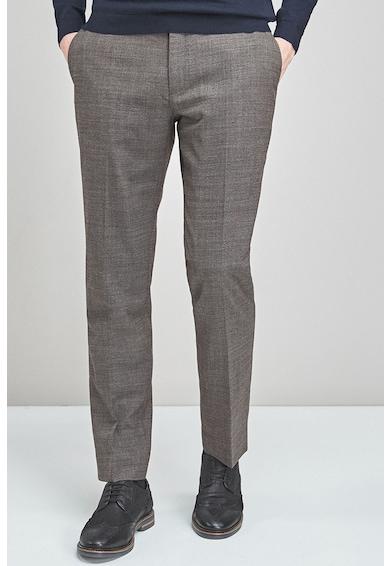 NEXT Pantaloni eleganti tailored fit din amestec de lana Barbati