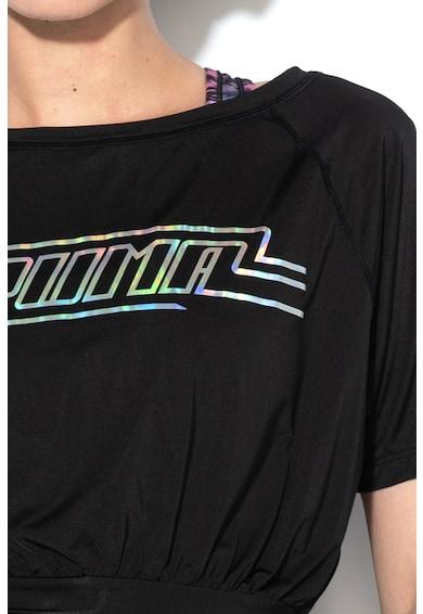 Puma Top cu imprimeu logo si DryCell, pentru fitness On The Brick Femei